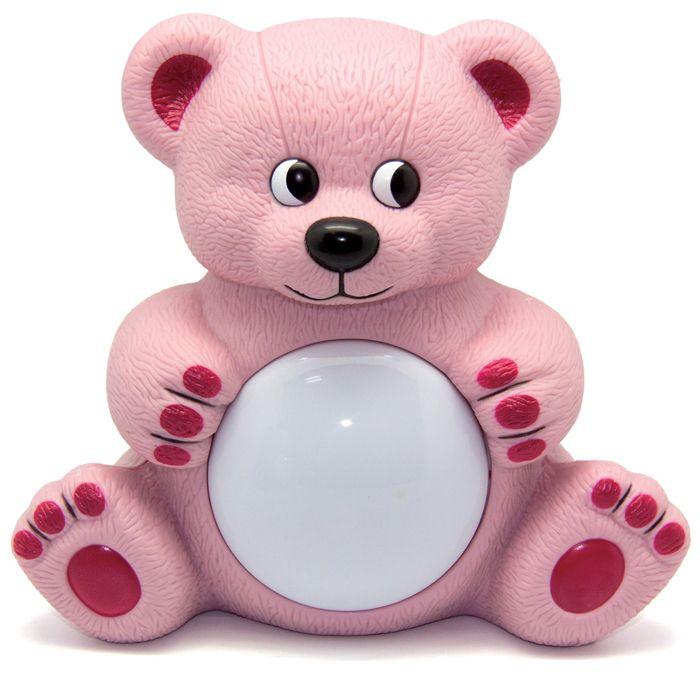 Игрушка-светильник Maman Мишутка (розовый) 20408