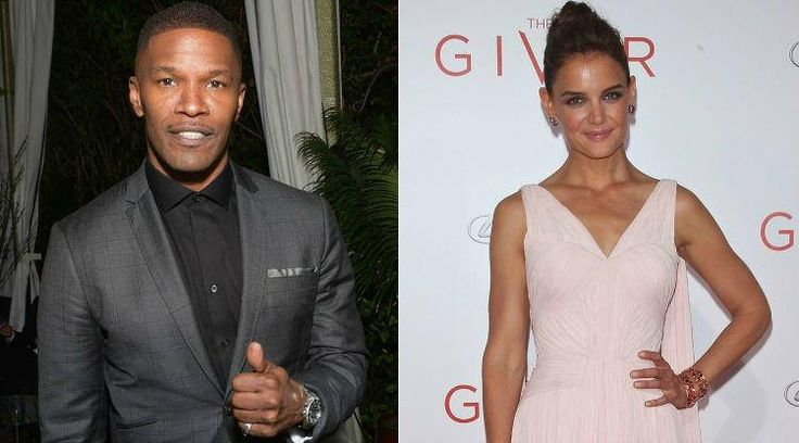 Jamie Foxx Pleasures Katie Holmes, Suri At His LA Mansion