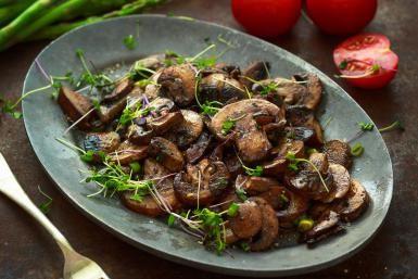 Savory Sauteed Mushrooms for Steak, Chops, and Burgers: Sauteed Mushrooms