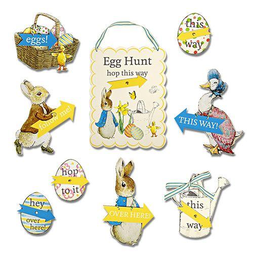 Охота за пасхальными яйцами Кролик Питер