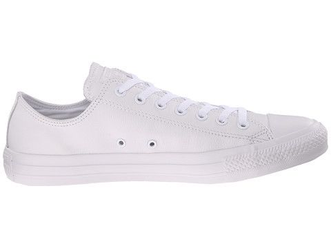 Converse Chuck Taylor All Star Leather Ox Shoes White