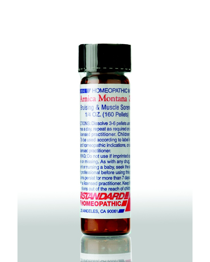 Arnica Montana - Muscular soreness due to overexertion. The first remedy for swelling and bruising.