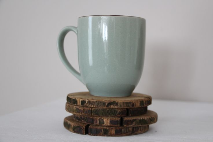 Natural Cedar Wood Coasters (set of 4) Get 10% off with coupon code: PINTEREST10 http://etsy.me/1KNgWjT