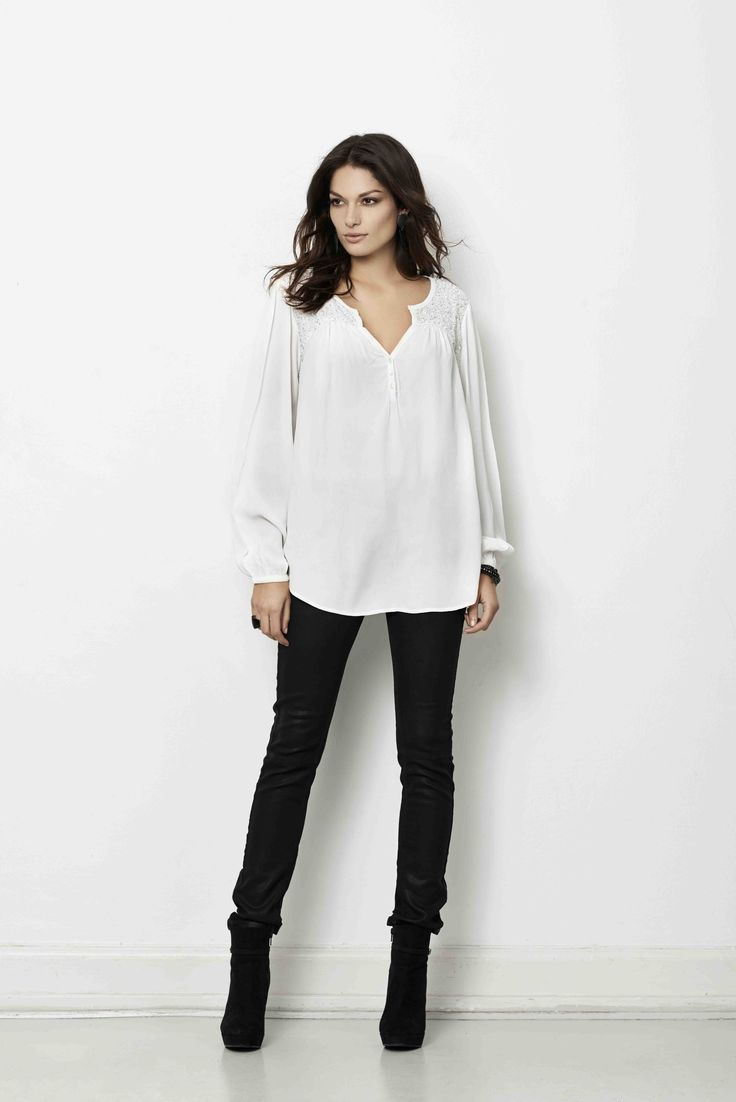 soyaconcept - shirt - pants - jeans