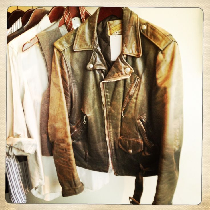 1000 Images About Vintage Motorcycle Jackets On Pinterest