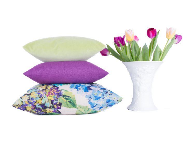 Kissen | Blumen | Design | Blüten | Sofa | Deko
