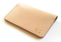 Tagsmith - Personalized Folding Leather Business Card Case
