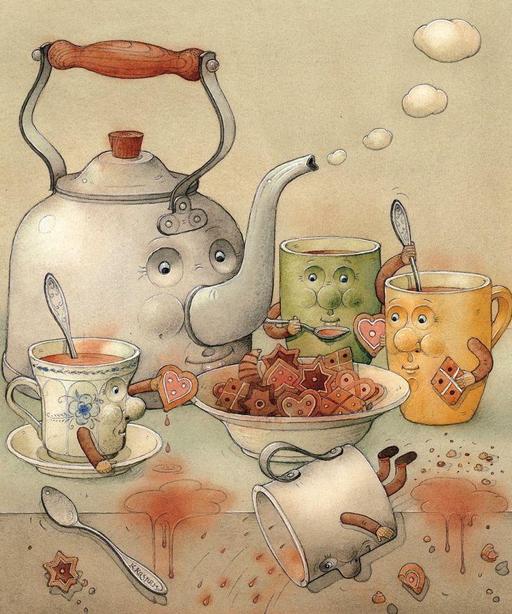 Сказочные картинки доброе утро