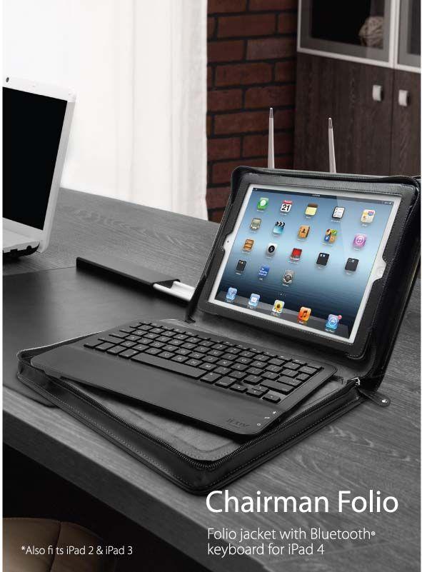 iPad 4 Chairman Folio Case