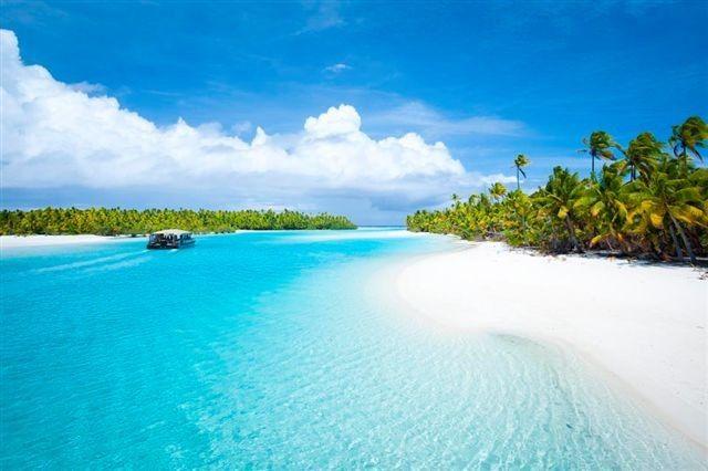Aitutaki lagoon (クック諸島)