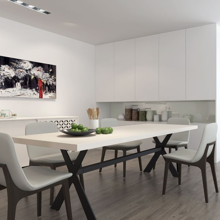 The HUDSON 8 Seater Dining Table is perfect for large dining areas!  Style with ZARA Dining Chairs for the ultimate CitySide look