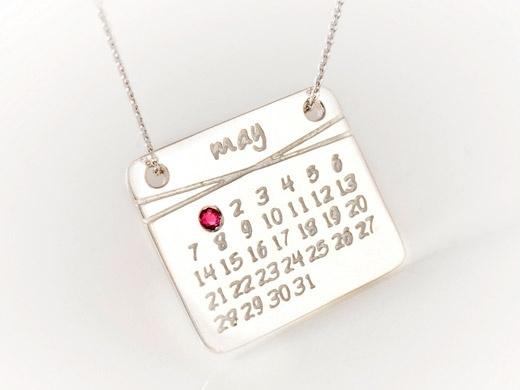 Jewellery Calendar Design : Dalla nonna calendar necklace design fashion and