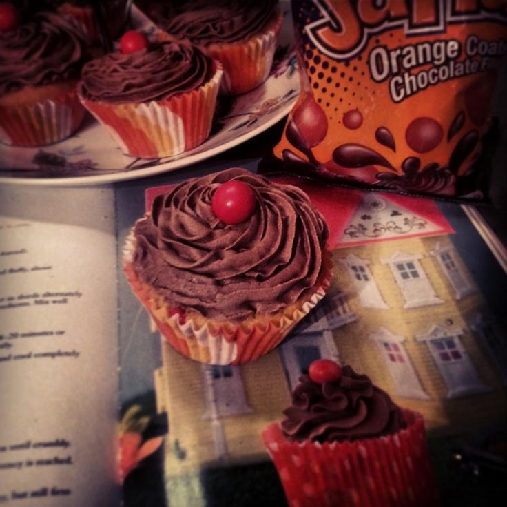 Jaffa cupcakes #missmelicious