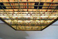 BWA Warszawa - Nicolas Grospierre, Library, Caleidoscope, 2006 #photography #mirrors #aluminium #books #BWAWarszawa