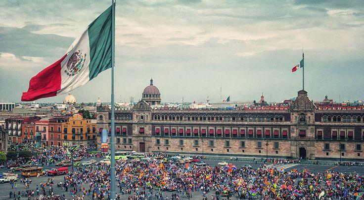 Lugares turísticos Zócalo Ciudad de México