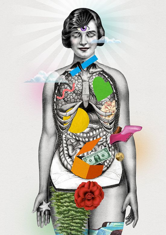 """The Chakras """"Our self and our soul are constantly co-creating our lives, and our intuition is a great guide and compass along the way."""""""