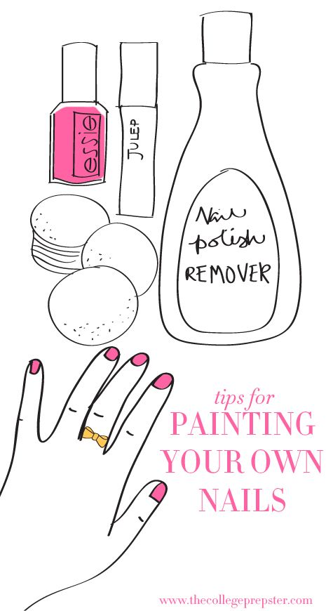 How to Paint Your Own Nails