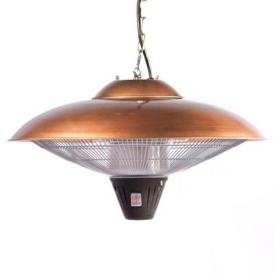 Fire Sense 1,500 Watt Copper Hanging Halogen Electric Patio Heater