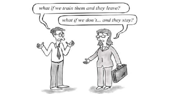 What Are The Two Most Important Questions About Education And Training For The Enterprise? #comic