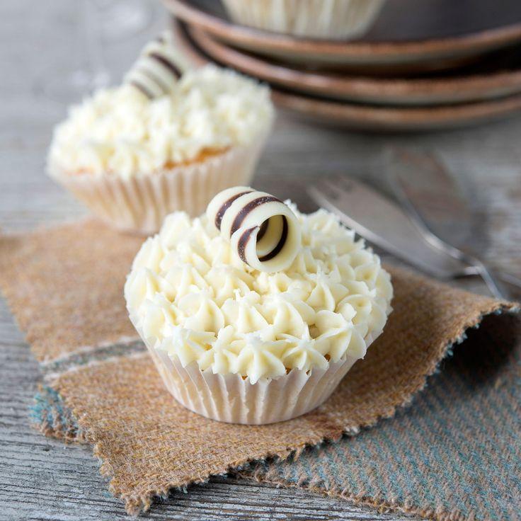 Découvrez la recette des cupcakes au chocolat avec glaçage au fromage