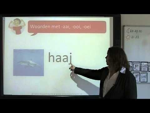 Spelling: woorden met -aai, -ooi, -oei