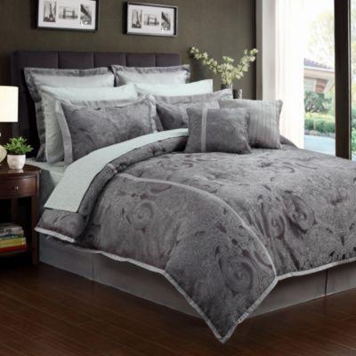 Veronique 12-Piece Comforter Set - BedBathandBeyond.com