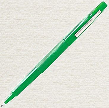 While students are working a problem, walk around the room with a handful of green pens. When someone finishes the problem correctly, they get a green star and a green pen. Now they are qualified to coach and star papers for other students, and so on, until everyone is done. Interesting!