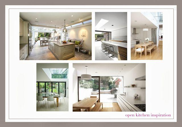 house renovation kitchen extension alloy bifold doors open kitchen island london