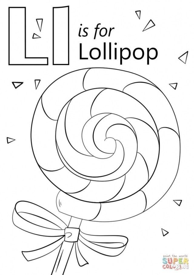 Lettering - Inspiration Picture of Letter L Coloring Pages ...