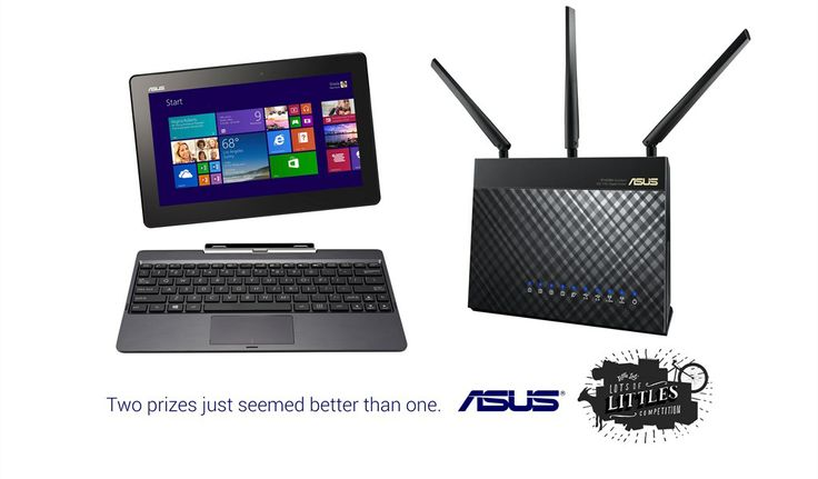 Asus | Asus T100 Transformer and RT-AC68U Router | Nominates Corsair