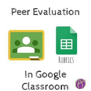 I am a big fan of self and peer evaluation. No matter what digital tools I use to give students feedback faster, there is still only one of me. If you provide students a rubric, having them assess ...