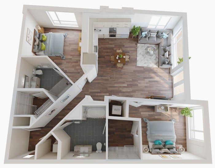 Micro Studio 1 2 3 Bedroom Apartments Lake Nona Pixon In 2020 Small Apartment Floor Plans Studio Apartment Floor Plans Apartment Floor Plans