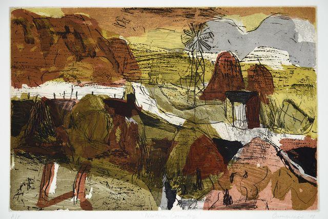 Elisabeth Cummings, 'Western Country,' 2009, Cicada Press