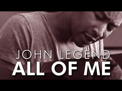 ▶ ALL OF ME - John Legend | Video & Lirycs On Screen - YouTube