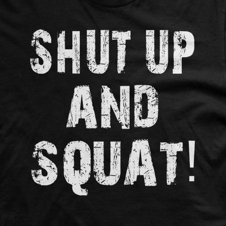 If your leg workout is as intense as you are, you're sure to understand why this remains one of our most popular weightlifting shirts. #gym #squat #workout #weightlifting