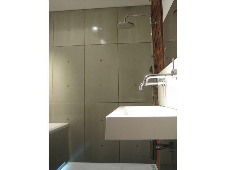Badkamer Verbouwen FotoS ~   marmeren badkamer wandpaneel sandwich panelen Cossolid ergo vloer