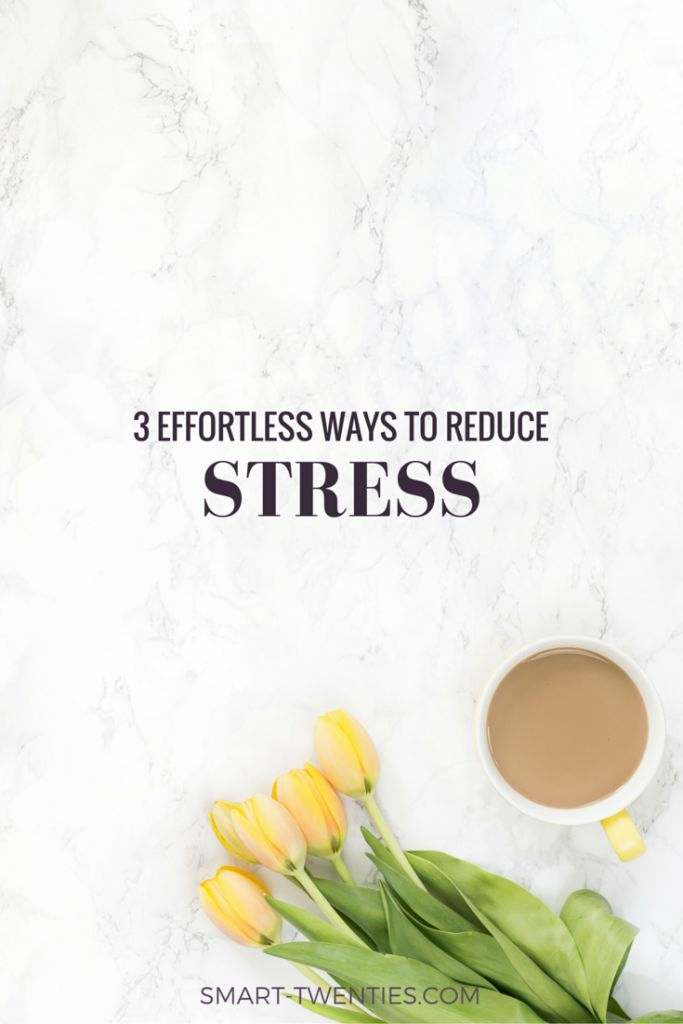 """3 easy ways to reduce stress 17 exceptionally easy ways to relax  fortunately, we're not taking all this stress  lying down — we're also finding healthy ways to relieve it: 53 percent say  3 try  a rub down """"i find it easy and convenient to self-massage."""
