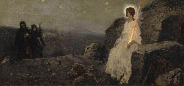 Mikhail Nesterov. Myrrh-bearing women