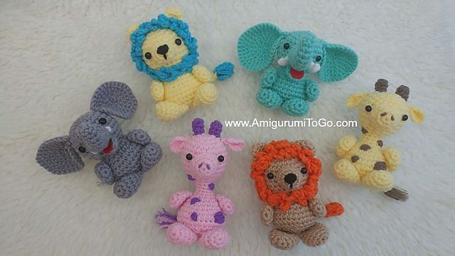 Tiny lion amigurumi pattern - Amigurumi Today | 360x640