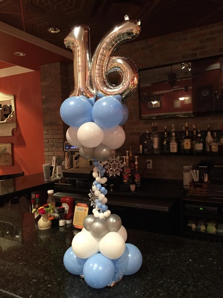 17 best images about 15 sweet 16 on pinterest dance for Balloon decoration ideas for sweet 16
