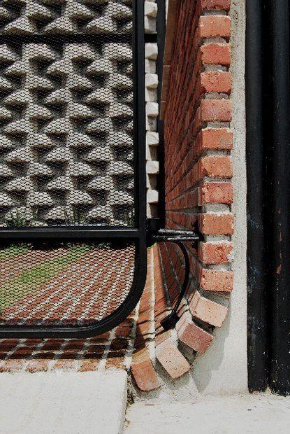 Brick WALL MEETS FLOOR