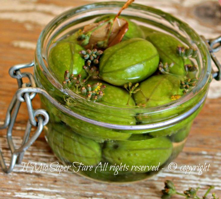 Olive confettate o da confetto ricetta Sarda il mio saper fare