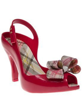 New Womens Vivienne Westwood And Melissa Red Lady Dragon 12 Rubber Sandals Jelly