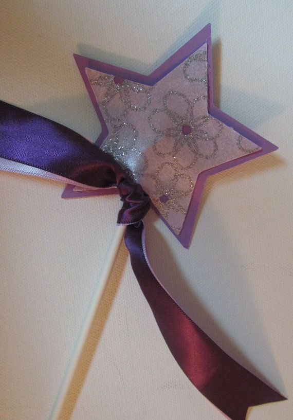 8 Princess Wands Sofia First Disney Princess Party Favors use as centerpiece on Etsy, $24.00