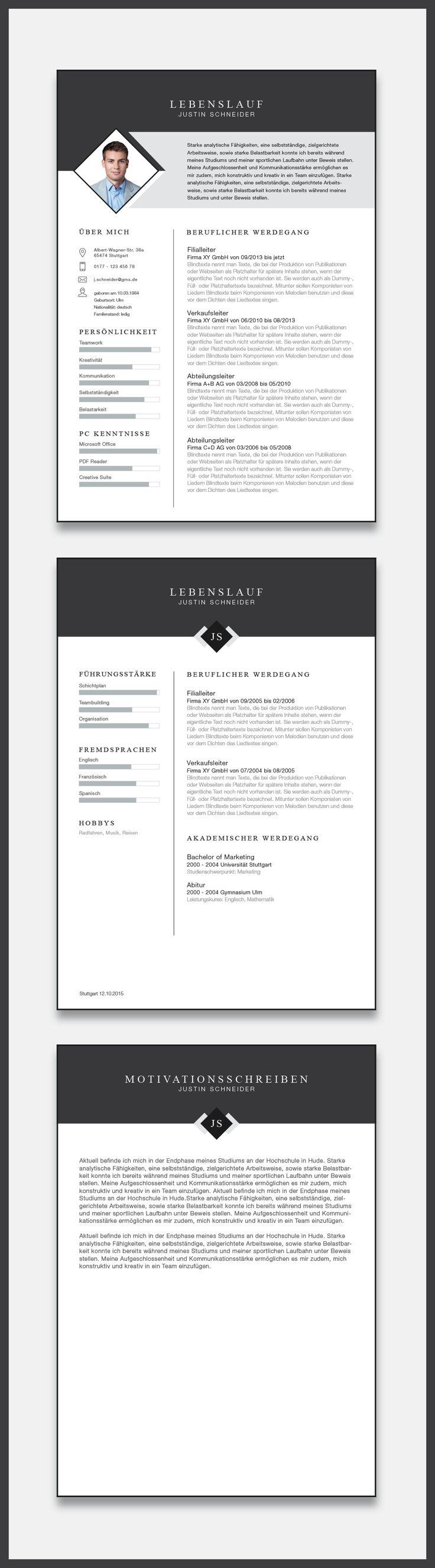 38 best CV Designs images on Pinterest | Resume templates, Cv ...