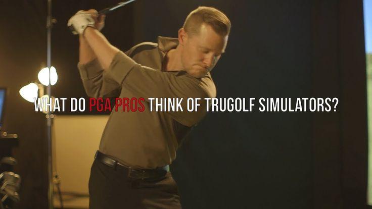 What do PGA Pros think of TruGolf Simulators?