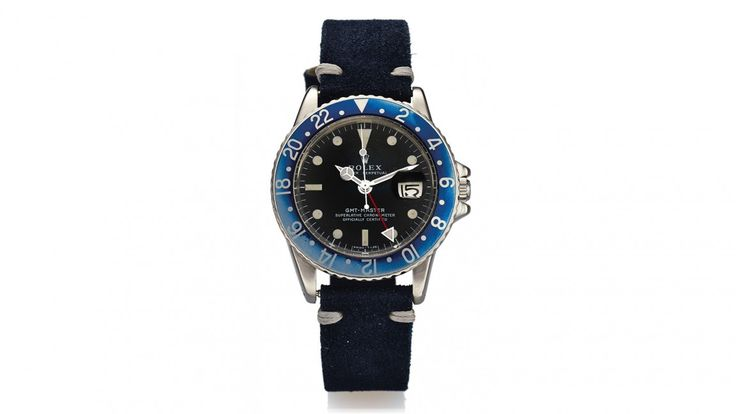 Watch Spotlight: An Ultra-Rare Rolex 'Blueberry' GMT Master To Be Auctioned-Off At Antiquorum NYC
