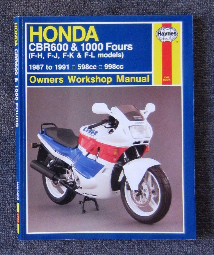 HONDA CBR1000F CBR600F CBR 600 1000 Service Repair Workshop Manual + FREE CD-R #HONDA