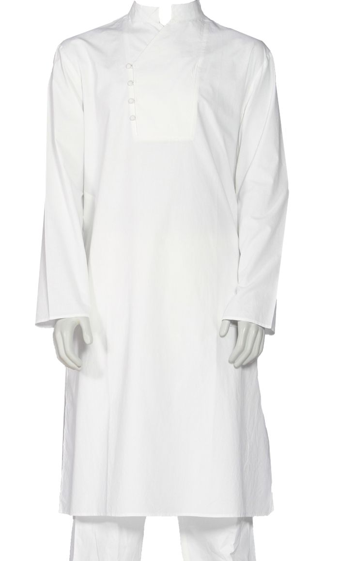 This Classy Men's Kurta is great for everyday wear or an evening out. Fabric: 100% Cotton Poplin