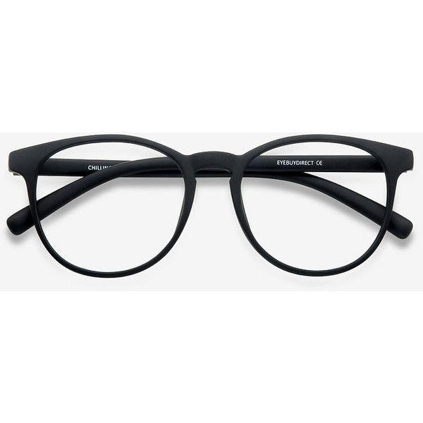 Men's Chilling - Black round plastic - 12945 Black Rx Eyeglasses (280 MXN) ❤ liked on Polyvore featuring men's fashion, men's accessories, men's eyewear, men's eyeglasses, mens round eyeglasses, mens eyewear and mens eyeglasses
